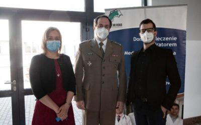 SCIENTISTS OF UNIVERSITY OF TECHNOLOGY AND LIFE SCIENCES IN BYDGOSZCZ (UTP) HAVE DEVELOPED A PROTOTYPE OF A SIMPLE LIFE-SAVING VENTILATOR FOR COVID-19 Patients.