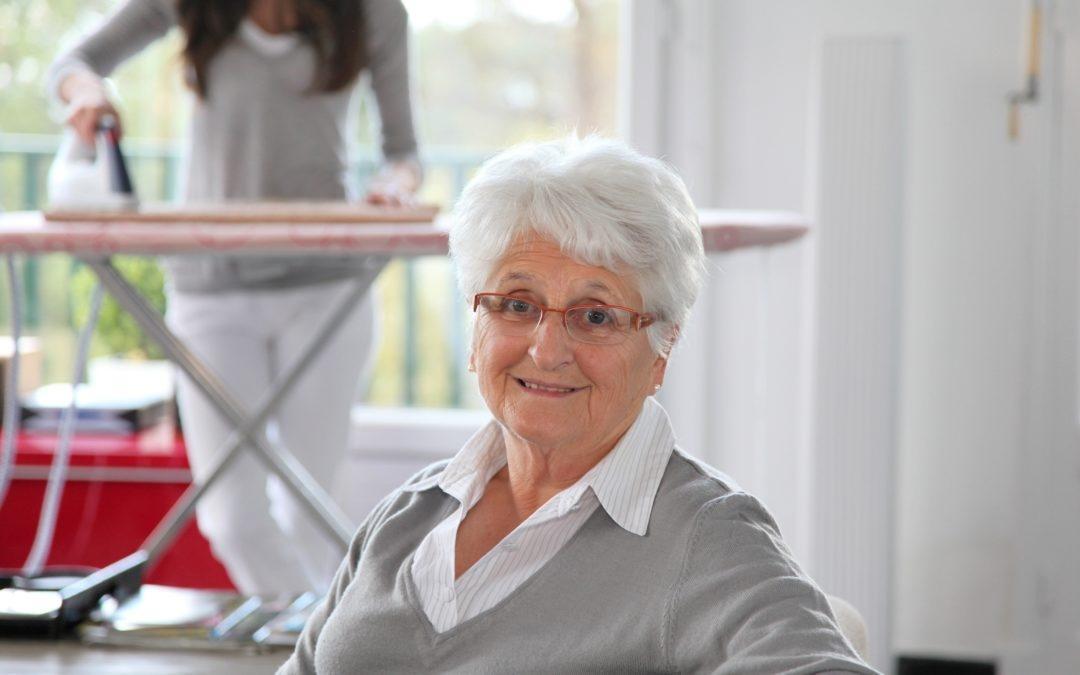 Starsza kobieta